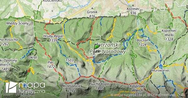 Zakopane mapa turystyczna online dating